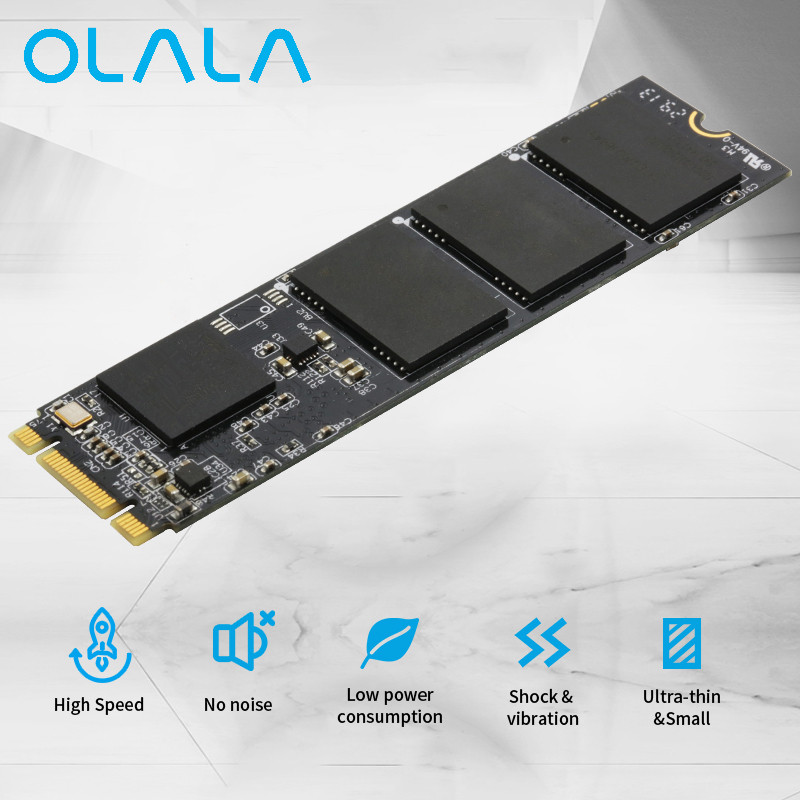 OLALA M.2 NGFF SSD 2280 240GB Internal Solid State Drive High Quality M.2 SSD 22*80mm For Laptop Desktop Notebook Xiaomi цена 2017