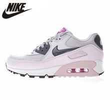 free shipping dfd4d b66fc Nike Air Max 90 chaussures de course pour femmes, chaussures de sport de  plein Air, rose, résistant à l abrasion respirant Absor.
