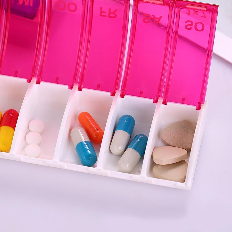 Pílula Cases e Divisores caixa de comprimidos de plástico Material : Plastic Abs