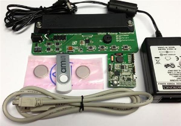 AS3933 evaluation board Suite RF development board Demo Board 3D Wakeup 125kHz