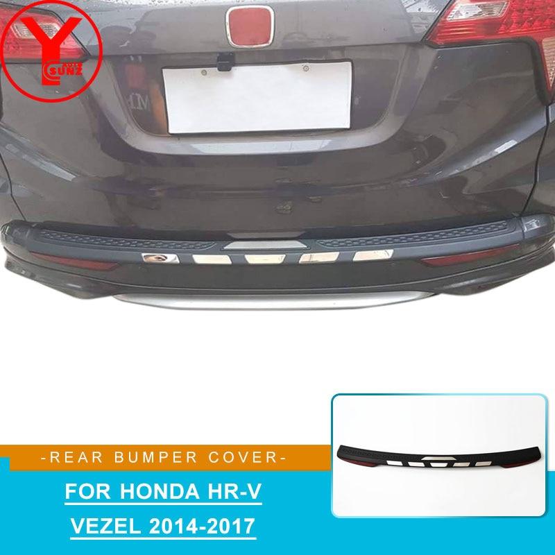 Protecteur de protection de pare-chocs arrière ABS pour honda vezel hrv h-rv 2014 2015 2016 2017 2018 accessoires pièces de voiture pare-chocs arrière YCSUNZ