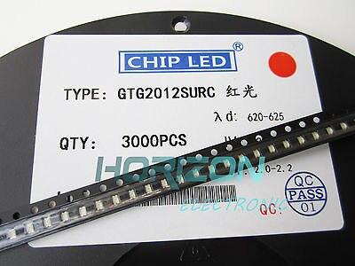 1000pcs Super Bright 0805 SMD SMT LED RED Warna - Elektronik pintar