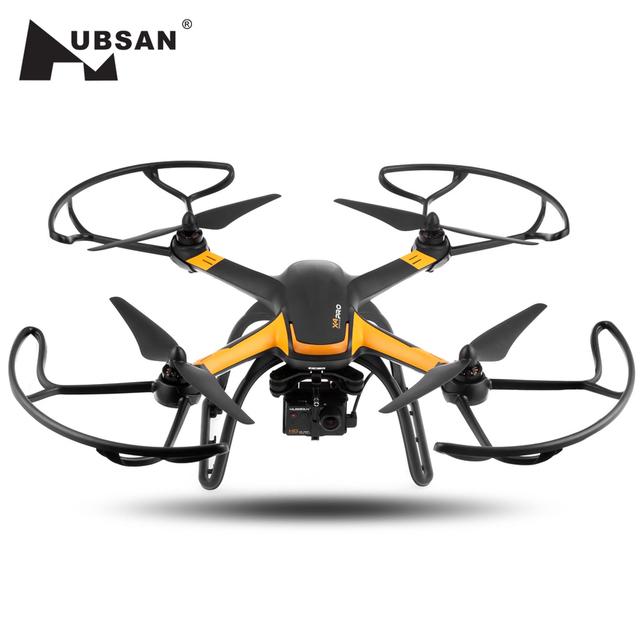 Alta Edição H109S Hubsan X4 PRO RC Quadcopter 5.8G FPV 1080 P HD Câmera GPS 7CH RC Quadcopter Com 3-axis Brushless cardan