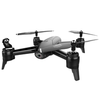 Sg106 Drone 2.4Ghz 4Ch Wifi Fpv Optical Flow Dual Hd Camera Rc Helicopter Follow Up Headless Mode Quadcopter Selfie Drone,Blac