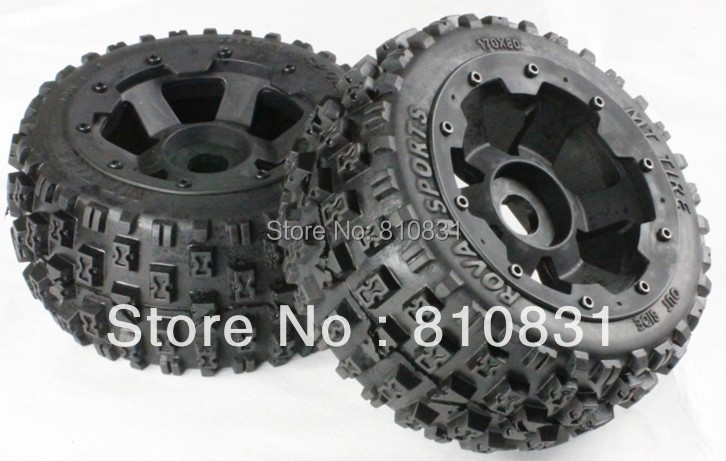 ФОТО The rear off-road  tires kit for 5b bajas