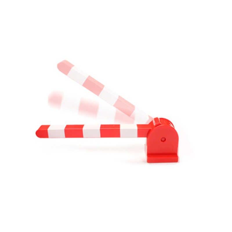 גדול גודל לבני צעצועי סוללה פעלה רכבת מסלול גשר סט לילדים Creative מסלול אבני בניין תואם le Duploed