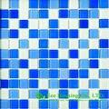 Пыленепроницаемая стеклянная Хрустальная мозаичная плитка для Bahroom/кухни  китайская стеклянная мозаичная плитка завод