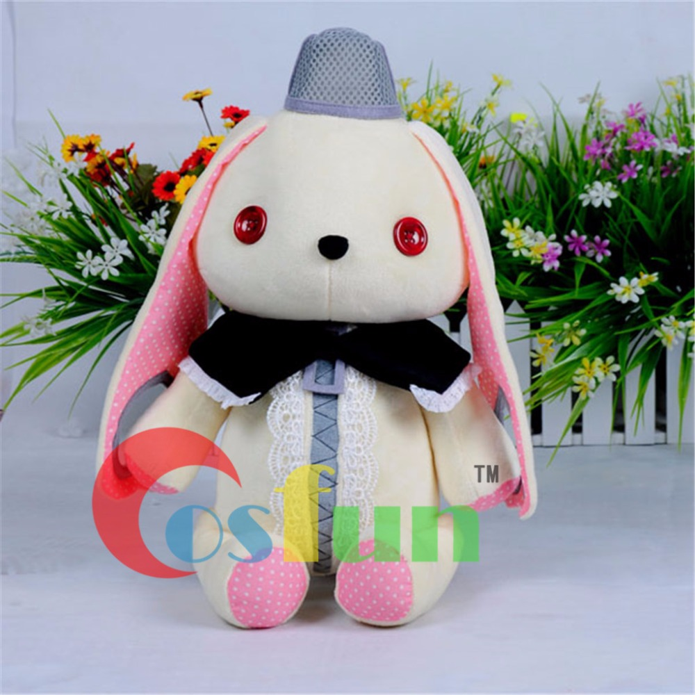 BEST Gift~ Vocaloid 3 mayu Rabbit Microphone Cosplay Plush Doll mp000937