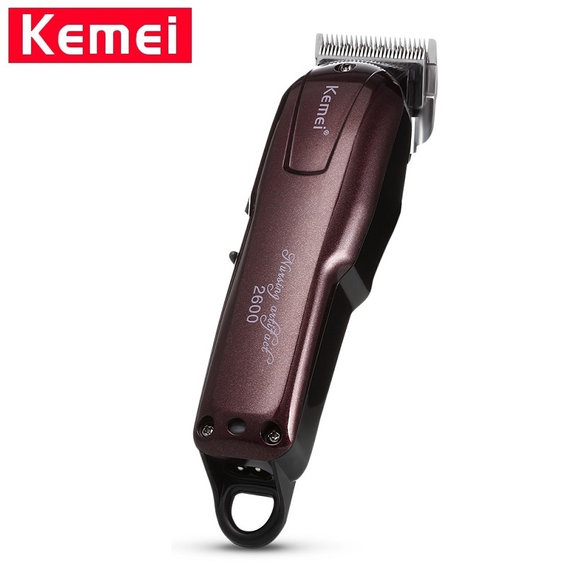 Kemei 2600 Electric Hair Clipper For Men Trimmer Haircutbarber Machine Professional Hair Clipper Professional Clippers 100V-240V