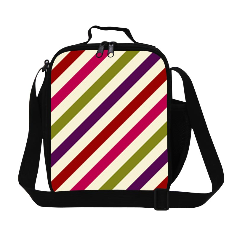 chevron lunch bags for teen colorful insulated lunch bag for work ladies lunch container for. Black Bedroom Furniture Sets. Home Design Ideas