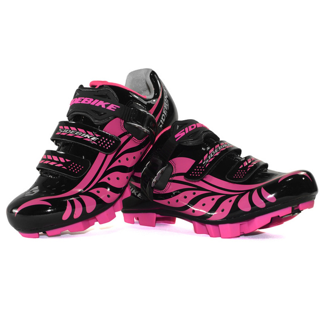 los recién llegados 1dc88 6083f US $136.65 |Mountain Bike Shoes Women Zapatillas Ciclismo MTB Cycle Shoes  Zapatillas Bicicleta MTB Cycling Bike Shoe SD04-in Cycling Shoes from  Sports ...