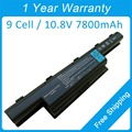 New 9 cell 7800mah laptop battery AS10D41 AS10D51 for Packard Bell EasyNote NS13 NS11 NS44 NS85 TM01 TM80 TM81 TM82 TM83