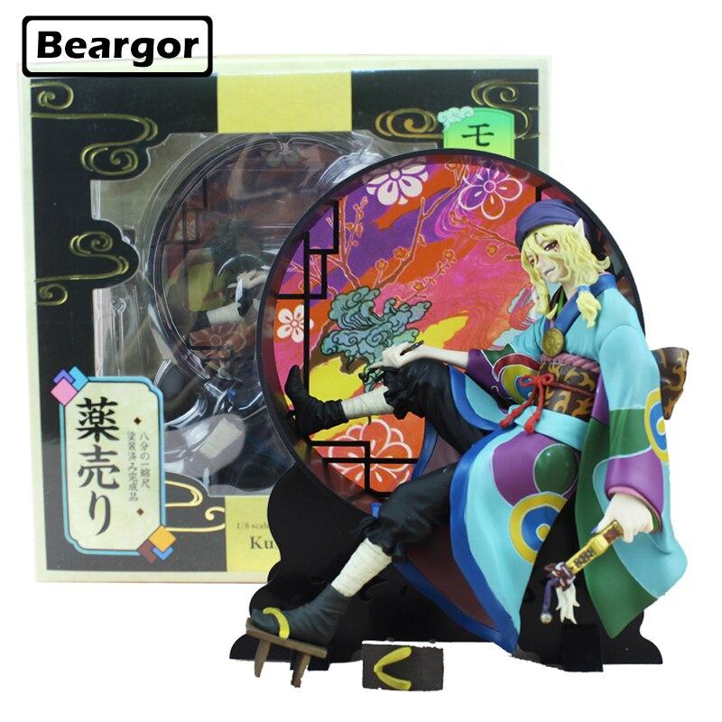 Free Shipping 8 Mononoke Ayakashi Kusuriuri Medicine Seller Boxed 21cm PVC Anime Action Figure Collection Model