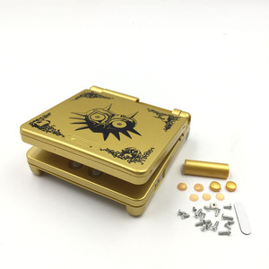 Image 3 - Gold Plastic Housing Shell Case Cover for GBA SP Majoras Mask Limited Edition