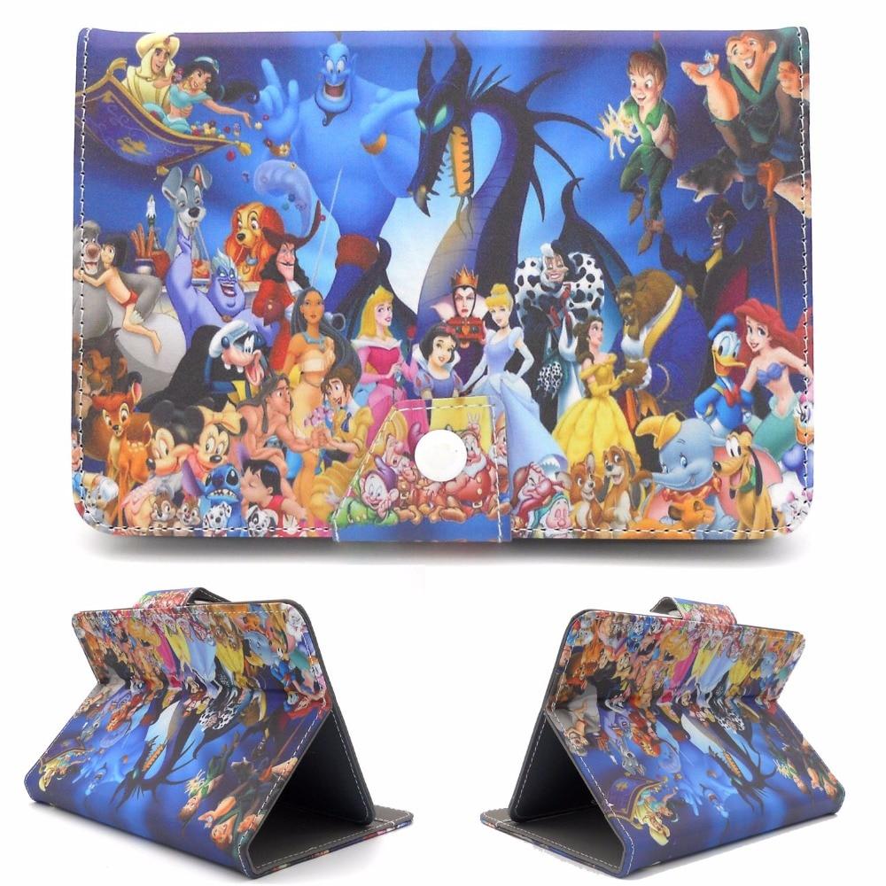 7Inch Universal Stand Cover Cartoon Anime Case Funda For Huawei Mediapad T3 7 7.0 3G BG2-U01 7 Inch Tablet For Boy Girl