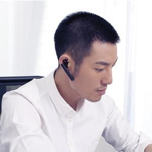Image 3 - Bluetooth гарнитура Xiaomi Mini, беспроводная гарнитура с зарядным кабелем