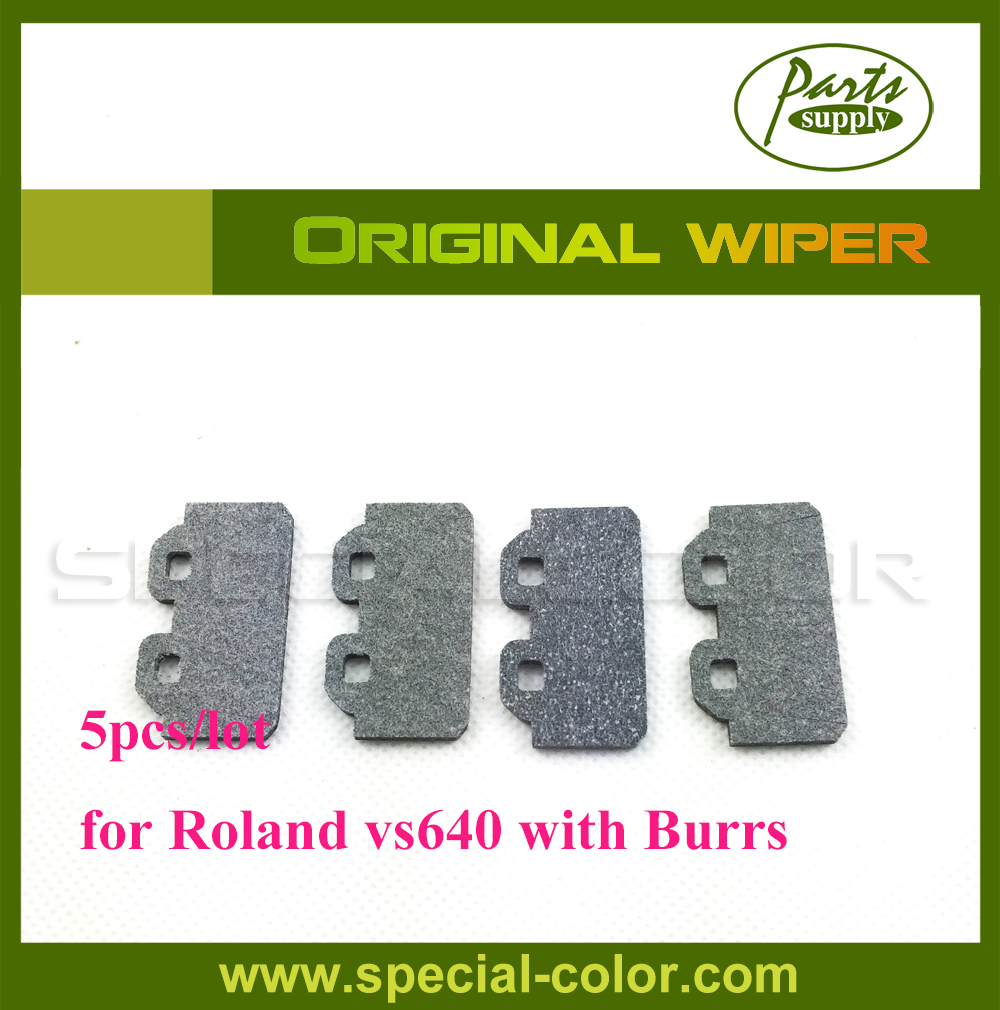 5pcs/lot Original Printer Cleaning Wiper for Roland DX7 Printer VS640 Wiper with Burrs 1000006736 feed motor board for roland rs 640