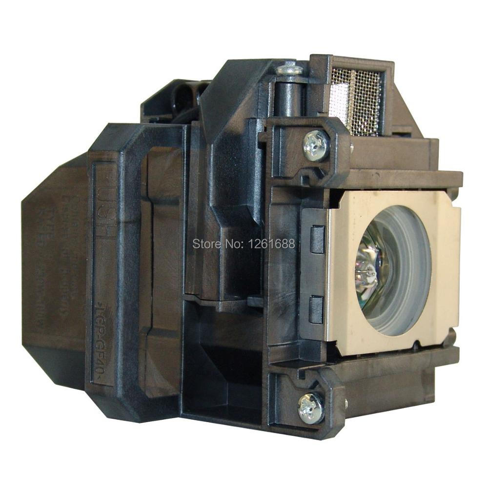 ELPLP57 / V13H010L57 compatible projector lamp with housing for EPSON EB-440W/EB-450W/EB-450Wi/EB-455Wi/EB-460/EB-460 projectors elplp57 v13h010l57 lamp for eb 465i eb 460 eb 455wi eb eb 450w eb 440w powerlite 450w brightlink 450wi eb 450wi eb 465i h318a