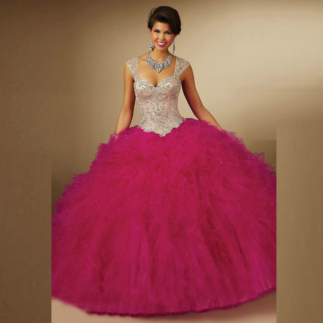 Rosa doce 16 vestidos plum aberto para trás destacável cintas vestido de baile rullfe vitoriana masquerade bola vestidos vestidos quinceanera