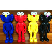 Free Shipping 11″ 30cm Kaws BFF Action Figures 4 Patterns bff Anime Figures PVC Doll Perfect quality kids toys