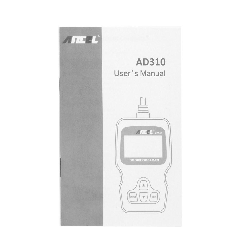 Ancel AD310 OBD2 Auto Scanner-12