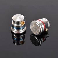 New TONEKING MusicMaker TY2 Pro Full Metal Housing Coaxial Double Dynamic Flat Head Earphone DIY HIFI