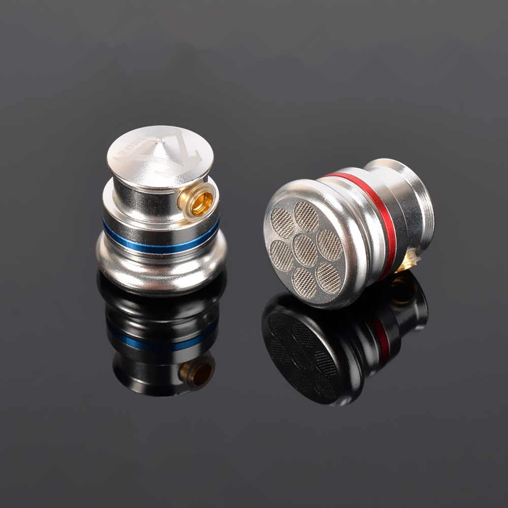 New TONEKING MusicMaker TY2 Pro Full Metal Housing Coaxial Double Dynamic Flat Head Earphone DIY HIFI Fever Metal Bass Earbud