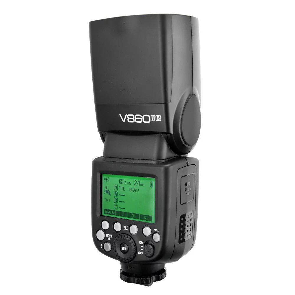Godox Ving V860II V860II S Speedlite flash TTL X1T S Transmitter Wireless Flash Trigge for sony Camera A7 A7S A7R A7 II in Flashes from Consumer Electronics