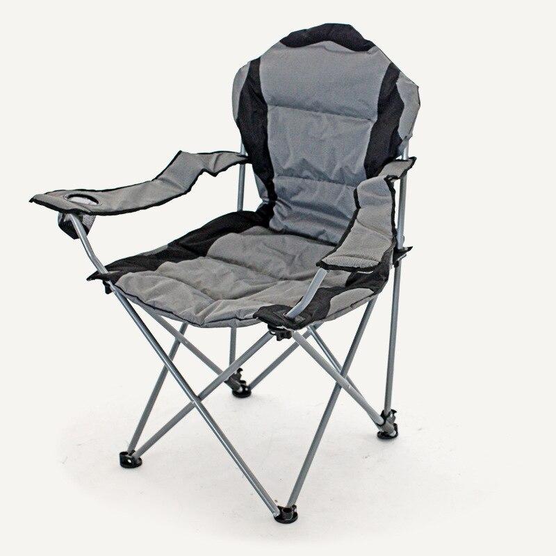 Fauteuil de plage inclinable en plein air chaise pliante Portable loisirs chaise de pêche meubles chaise de plage chaises de Camping simples portables