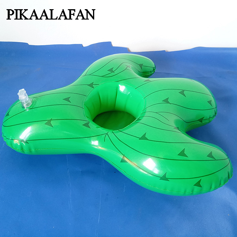 Toys & Hobbies Amiable Pikaalafan 2018 Inflatable Cactus Cup Seat Floating Drink Cup Holder Inflatable Coaster Pvc Beach Party Supplies Pool Cup Skillful Manufacture Pools & Water Fun