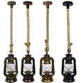 Светодиодный подвесной светильник из пеньковой веревки  подвесной светильник для дома/спальни/гостиной  современный подвесной потолочный ...