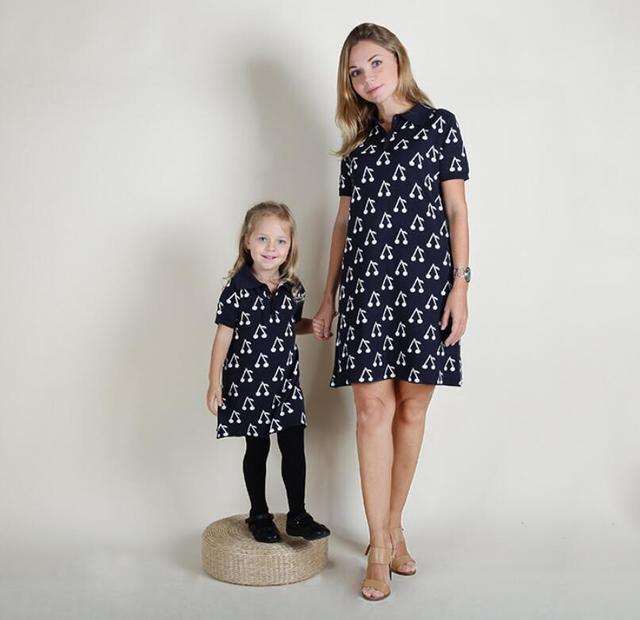 The sweater and the wind explosion of baby mother children mother infant and toddler cotton knitted jacquard dress cherry dress
