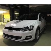 Sport Lines Whole Body Sticker Racing Styling Car Hood Tail Roof Decorative Decal For POLO Volkswagen Golf 6 7