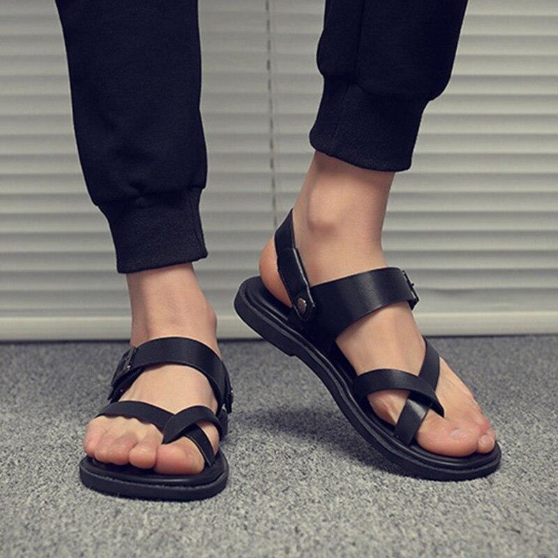 da77d9234 2019 nuevo sandalias de los hombres de verano Flip Flops hombres zapatillas  de playa al aire