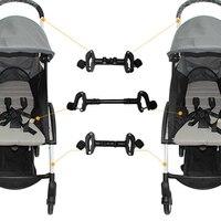Make Single Stroller To Be Twins Strollers Connector For babyzen yoyo babyyoya Yuyu yoya Pram Adaptor Coupler Stroller Accessory