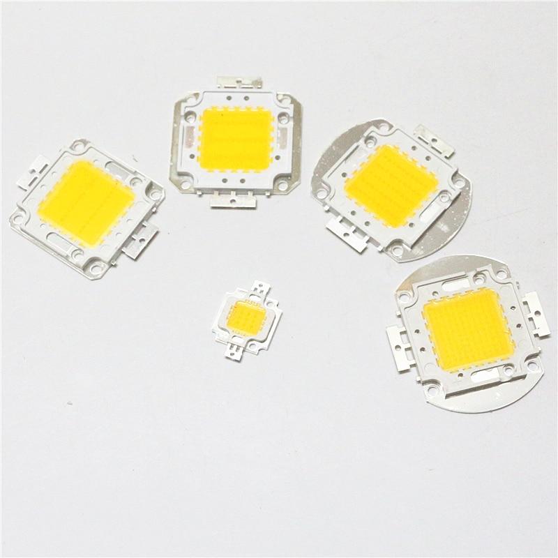 1Pcs High Power 10W 20W 30W 50W 100W COB Integrated LED Lamp Chip SMD DC 12V 24V 30V 36V For DIY Flood Light Spotlight Bulb