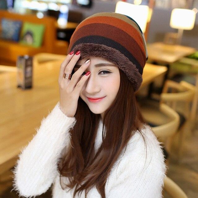 6d2950c210f Women New Design Caps Twist Pattern Women Winter Hat Knitted Sweater  Fashion beanie Hats For Women