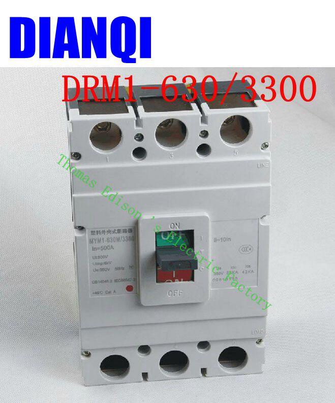 CM1-630/3300 MCCB Household 400A 500A 630A molded case circuit breaker CM1-630 Moulded Case Circuit Breaker cm1 400 3300 mccb 200a 250a 315a 350a 400a molded case circuit breaker cm1 400 moulded case circuit breaker
