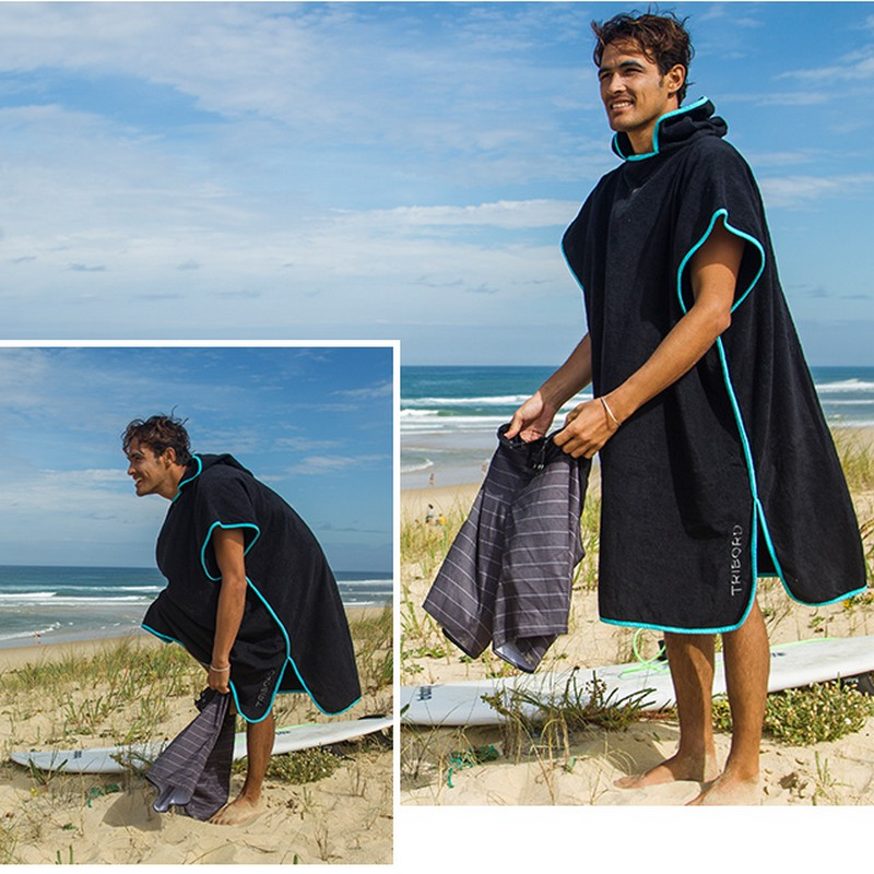 100 new Brand Changing Robe Bath Towel Fashion Outdoor Adult Hooded Beach Towel Poncho Movemen Women