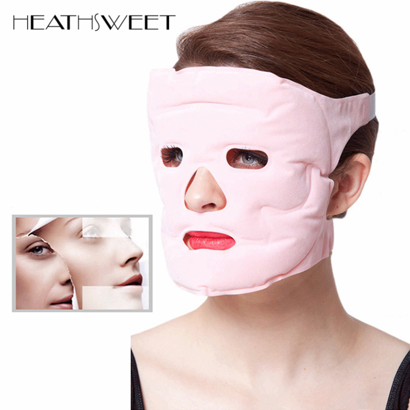 Healthsweet Tourmaline Gel gel Magnet Facial Mask Slimming Beauty Massage Face Mask Thin Face Whitening Remove Pouch Health Care health care body massage beauty thin face mask the treatment of masseter double chin mask slimming bandage cosmetic mask korea