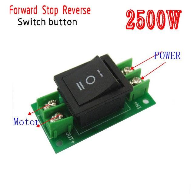 Switch DC motor 6v12v24v36v direction of rotation forward,backward ...