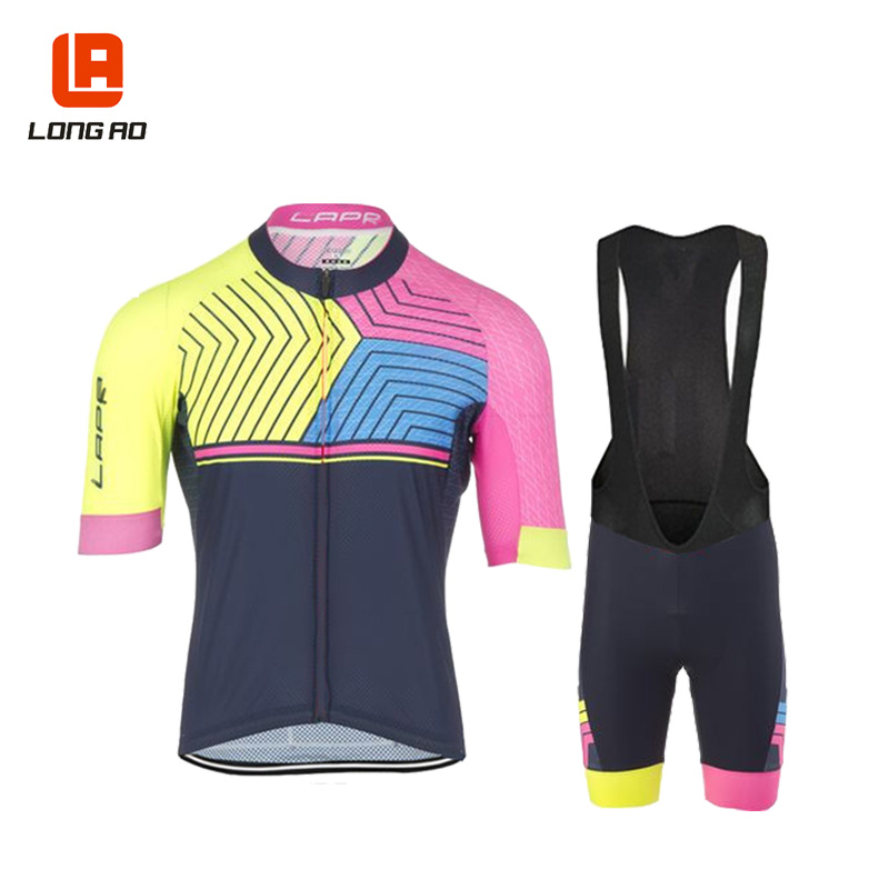 LONG AO New Arrival longao women's Summer Short Sleeve Cycling Jerseys/Bike Sports Clothing Cycle Bicycle Clothes Ropa Ciclismo