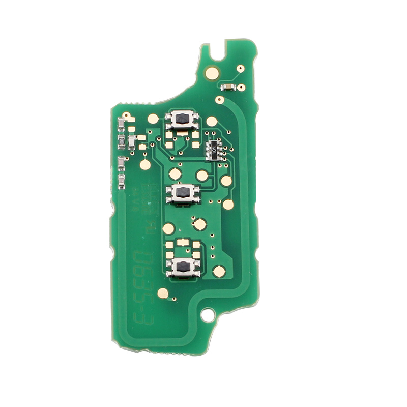 Modified Flip Key ASK Signal 433MHz Remote Key For Peugeot 207 307 308 SW 407 408 107 Keyless Entry CE0536 PCF7961 Chip
