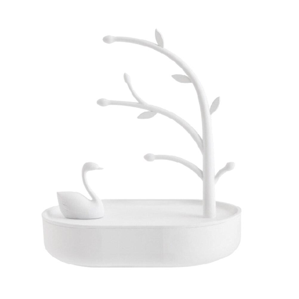 1pc Jewelry Stand Practical Swan Plastic Creative Durable Display Stand Jewelry Holder Storage Stand For Bracelet Necklace dřevěné dekorace do dětského pokoje