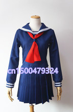 Blood C Kisaragi saya cosplay trajes de uniforme