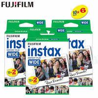 60 Filme Fujifilm Instax Breite Instant Weißen Rand Für Fuji Kamera 100 200 210 300 500AF Lomography foto