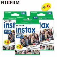 60 Films Fujifilm Instax Wide Instant White Edge For Fuji Camera 100 200 210 300 500AF Lomography photo