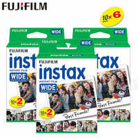 60 Films Fujifilm Instax Wide Instant White Edge For Fuji Camera 100 200 210 300 500AF Lomography photo