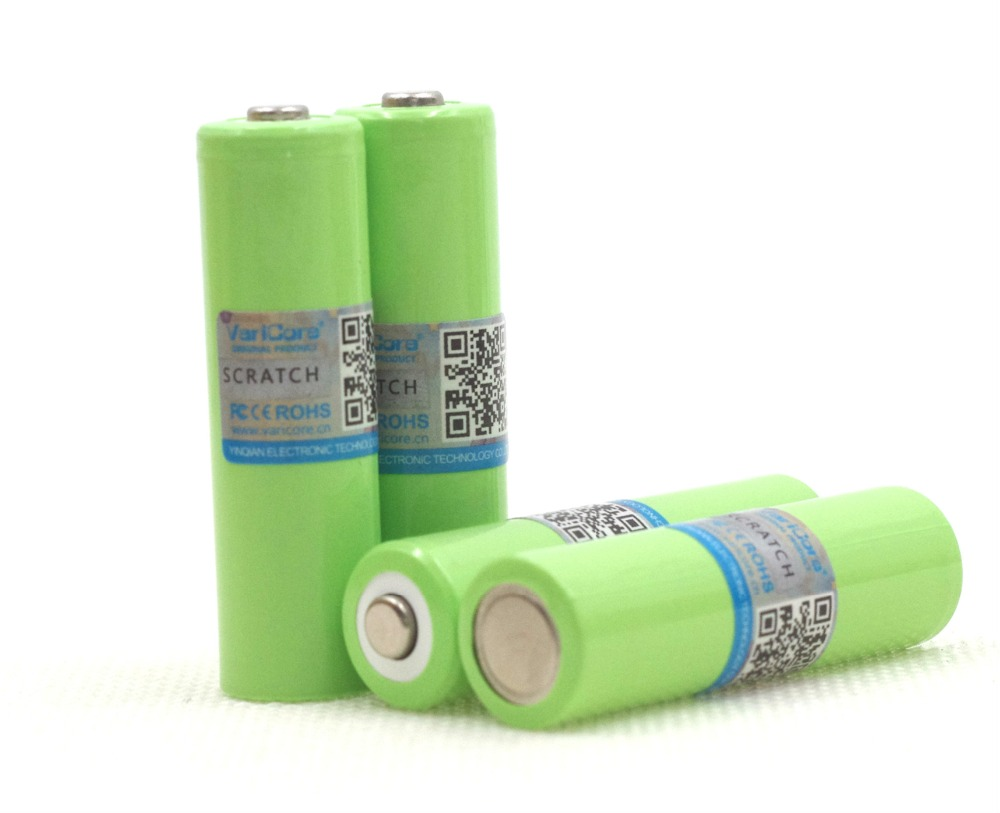 VariCore 4PCS AA 2000 mah 1.2 V NiMH batteries for remote control robot toys medical equipment A products image