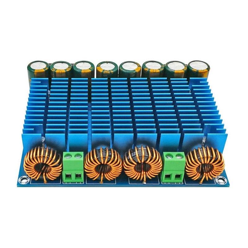 TDA8954TH Class D High Power Dual-Channel Digital Audio Amplifier Board 420W x 2 aiyima 12v tda7297 audio amplifier board amplificador class ab stereo dual channel amplifier board 15w 15w
